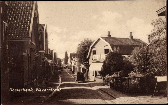 Ak Oosterbeek Renkum Gelderland, Weverstraat 0