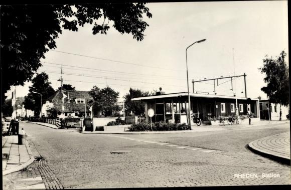 Ak Rheden Gelderland, Station 0