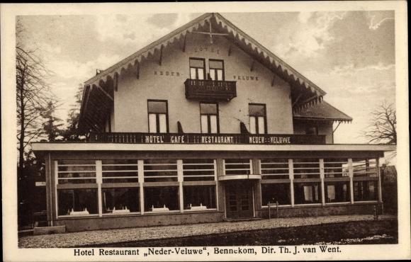 Ak Bennekom Gelderland, Hotel Restaurant Neder Veluwe 0
