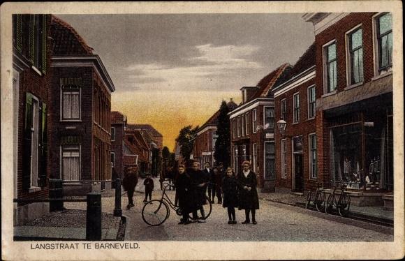Ak Barneveld Gelderland, Langstraat 0
