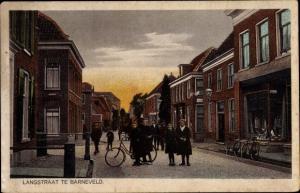 Ak Barneveld Gelderland, Langstraat