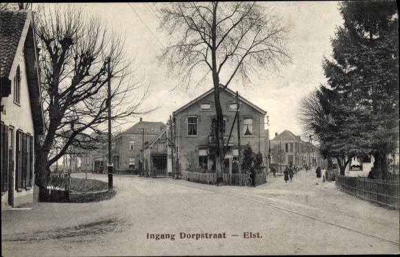 Ak Elst Gelderland, Ingang Dorpsstraat 0