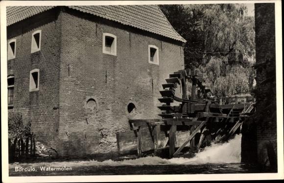 Ak Borculo Gelderland, Watermolen 0