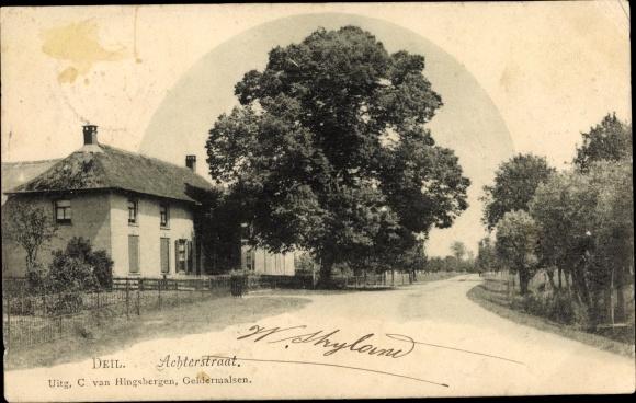 Ak Deil Gelderland, Achterstraat, Haus 0