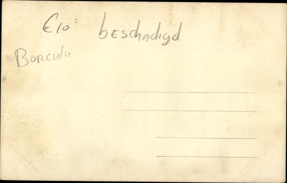 Foto Ak Borculo Gelderland, Kriegszerstörungen, Soldaten, LKW 1