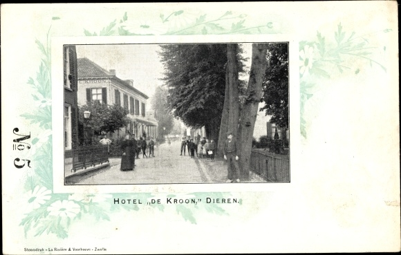 Passepartout Ak Dieren Gelderland, Hotel De Kroon 0