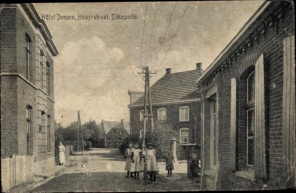 Ak Dinxperlo Gelderland, Hotel Jansen, Hoogestraat, Kinder 0