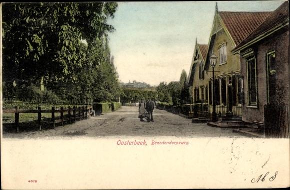 Ak Oosterbeek Renkum Gelderland, Benedendorpsweg 0