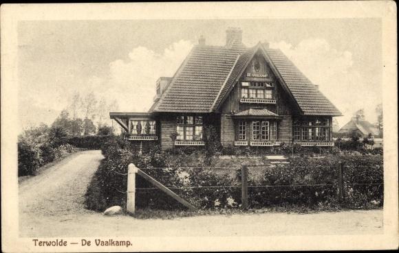 Ak Terwolde Gelderland, De Vaalkamp, Pension 0