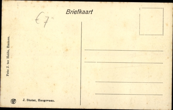 Ak Zuidwolde Drenthe, Traandijksbrug, Brücke 1