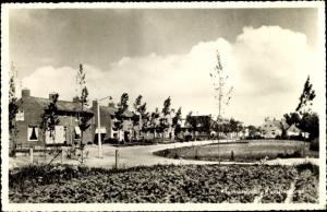 Ak Kloostersingel Kloosterburen Drenthe, Straßenpartie