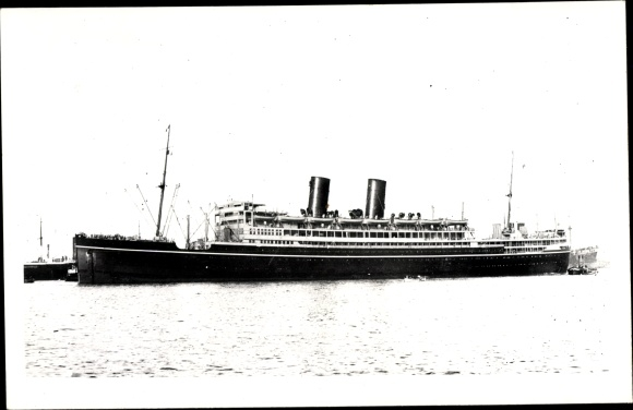 Ak Steamer Viceroy of India, Dampfschiff, P&O 0