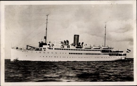 Ak Dampfer MS Hansestadt Danzig, Norddeutscher Lloyd Bremen 0