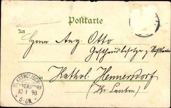 Litho Berlin, Gewerbeausstellung,Deutsche Kolonial Ausstellung Station Ostafrika, Neu Guinea 1
