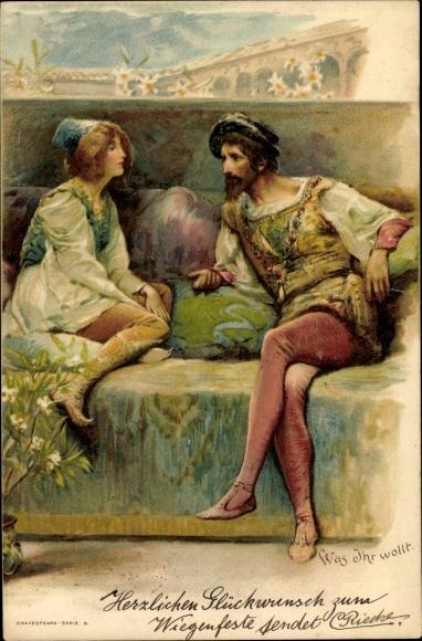 Litho Was Ihr wollt, Theaterstück von William Shakespeare 0