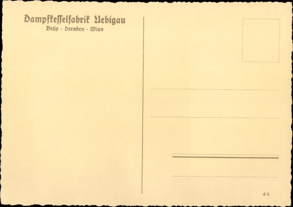Künstler Ak Dampfkesselfabrik Uebigau, James Watt beobachtet Teekessel 1
