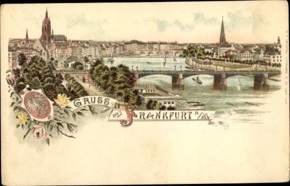 Litho Frankfurt am Main, Panorama 0