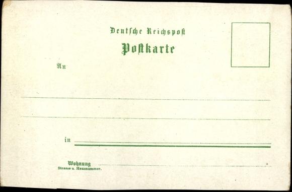 Litho Hansestadt Bremen, Dom, Hafen, Markt, Bahnhof, Parkhaus, Panorama 1