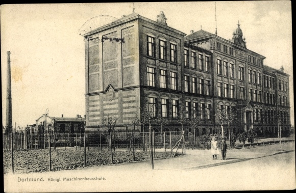 Ak Dortmund im Ruhrgebiet, Königl. Maschinenbauschule 0
