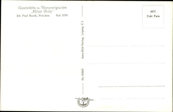 Ak Potsdam in Brandenburg, Gaststätte Alter Fritz 1