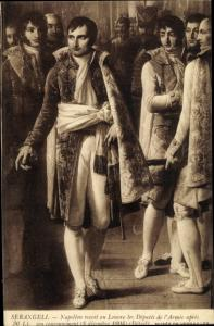 Künstler Ak Serangeli, Napoleon Bonaparte, Kaiser Napoleon I.