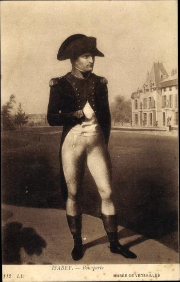 Künstler Ak Isabey, Napoleon Bonaparte, Kaiser Napoleon I. 0