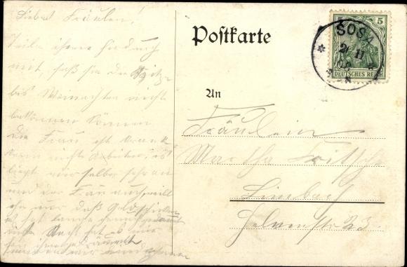 Lied Ak Worüm's Vögele singt, Frau am Fenster, Wilhelm Vogel 1