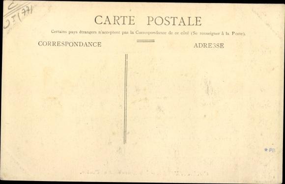 Ak Coulommiers Seine et Marne, Hôtel de Ville et Postes 1