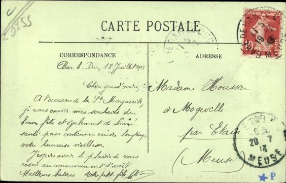 Ak Bar-le-Duc Meuse, Le 94 Regiment d'Infanterie revenant de marche 1