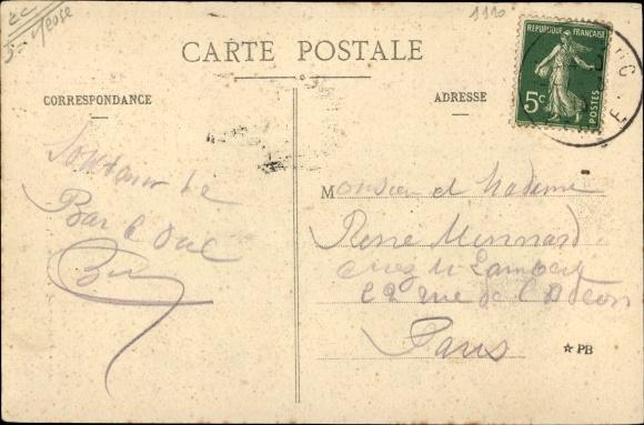 Ak Bar-le-Duc Meuse, Sa Maison Natale, 35, Rue Neve, President M Raymond Poincare 1