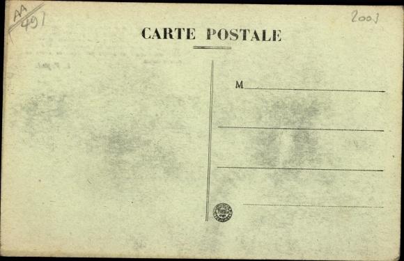 Ak Écuillé Maine et Loire, Chateau de Plessis-Bourre 1