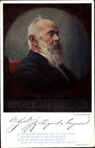 Künstler Ak Firle, Walther, Prinzregent Luitpold von Bayern, Portrait