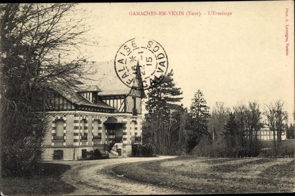 Ak Gamaches-en-Vexin Eure, L'Ermitage 0