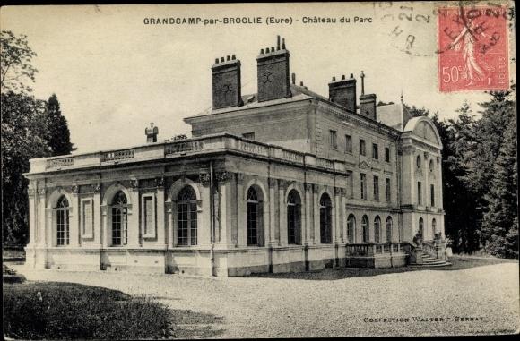 Ak Grandcamp par Broglie Eure, Chateau du Parc 0