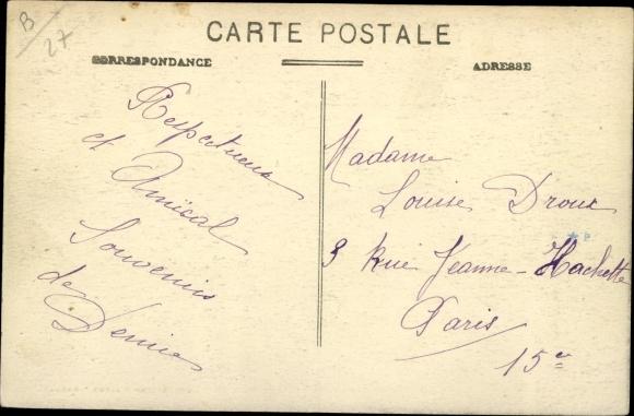 Ak Grandcamp par Broglie Eure, Chateau du Parc 1