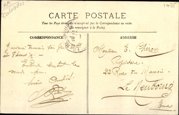 Ak Honfleur Calvados, Le Quai Saint Etienne 1