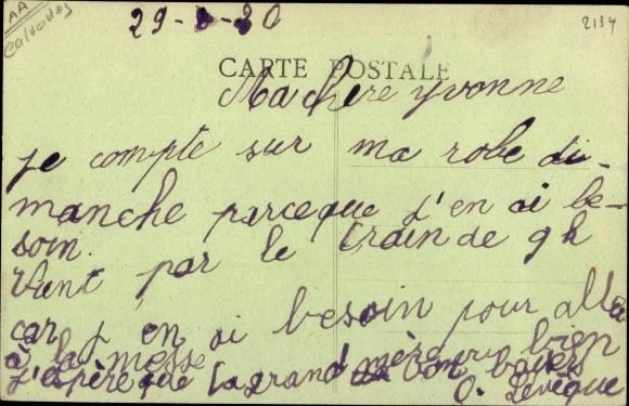 Ak Langrune sur Mer Calvados, Vue d'ensemble du Preventorium Pasteur 1