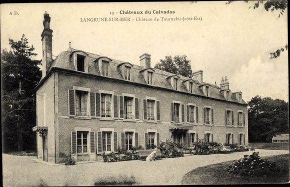 Ak Langrune sur Mer Calvados, Chateau de Tournebu 0