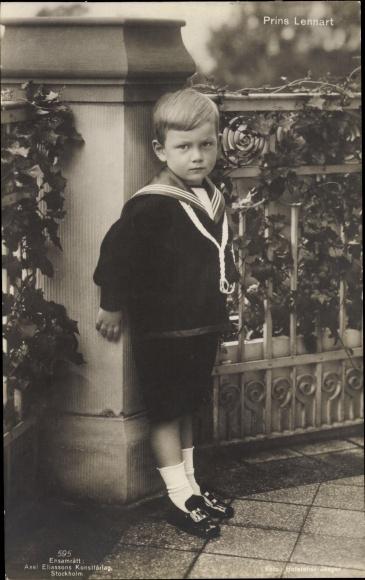 Ak Prins Lennart, Prinz Lennart Bernadotte von Schweden 0