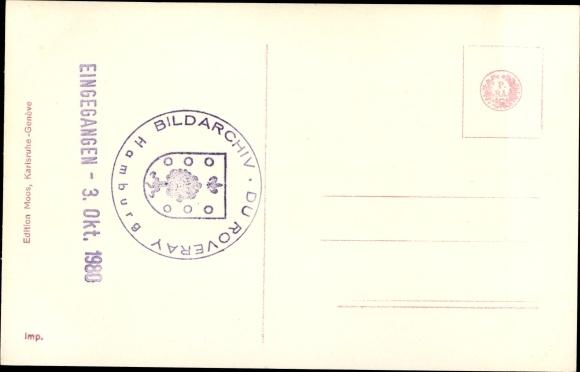 Ak Kronprinzessin von Schweden, Margaret of Connaught, Gustav Adolf, Sigvard, Ingrid 1