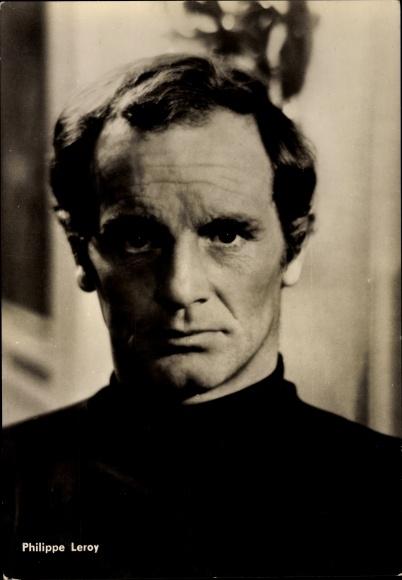 Ak Schauspieler Philippe Leroy 0
