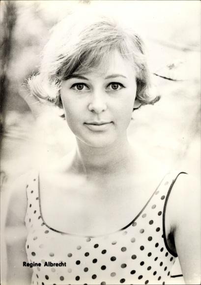 Ak Schauspielerin Regine Albrecht 0