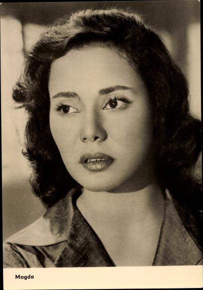 Ak Schauspielerin Magda al Sabbahi, aus dem ägyptischen Film Djamila 0
