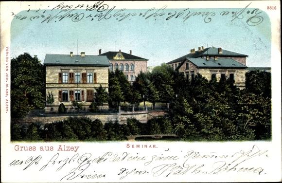Ak Alzey in Rheinhessen, Seminar 0