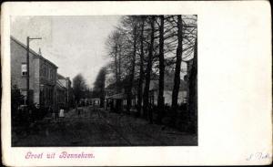 Ak Bennekom Gelderland, Straßenpartie, Häuser