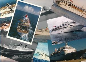 ca. 1.500 alte Ak Schiffe, groß und klein, farbig und schwarz weiß, Konvolut