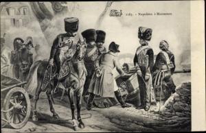 Künstler Ak Napoleon Bonaparte à Montereau