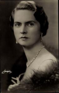 Ak Prinsessan Sibylla, Sibylla von Sachsen-Coburg und Gotha, Erbprinzessin von Schweden