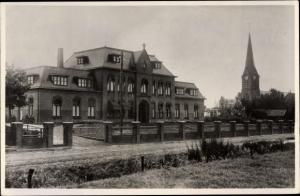 Ak Kloosterburen Groningen Niederlande, Schule, Kirche