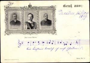 Ak Kaiser Wilhelm II. von Preußen, Portrait, Marschall